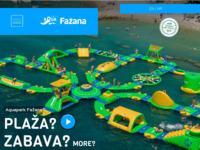 Slika naslovnice sjedišta: Aquapark Fažana (http://www.aquapark-fazana.com)