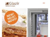 Frontpage screenshot for site: GLAZIR d.o.o. proizvodnja voćnih fila i punila, sirovina za pekarstvo (http://www.glazir.hr)