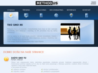 Frontpage screenshot for site: Methodus d.o.o. - Training, Coaching, Consulting (http://www.methodus.org)