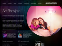 Frontpage screenshot for site: LED rasvjeta (http://www.led-rasvjeta.com)