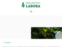 Slika naslovnice sjedišta: Vrtlarstvo Labora (http://www.vrtlarstvolabora.hr)