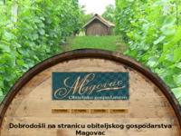 Frontpage screenshot for site: Gospodarstvo Magovac (http://www.gospodarstvo-magovac.hr)