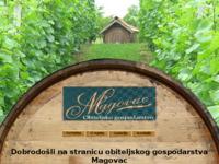 Slika naslovnice sjedišta: Gospodarstvo Magovac (http://www.gospodarstvo-magovac.hr)