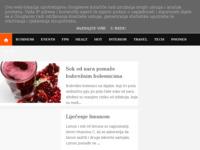 Slika naslovnice sjedišta: Liječenje bolesti ljekovitim biljem (http://lijecenje.blogspot.com/)