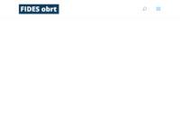 Frontpage screenshot for site: (http://www.fides-osijek.hr)