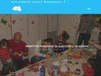 Frontpage screenshot for site: (http://www.malikreativci.hr)