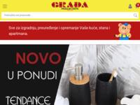 Slika naslovnice sjedišta: Prodajni centri Građa (http://www.gradja.hr)