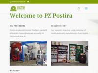 Slika naslovnice sjedišta: Poljoprivredna zadruga Postira - Otok Brač (http://www.pzpostira.hr)