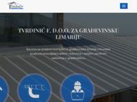 Slika naslovnice sjedišta: Tvrdinic-f.hr - za građevinsku limariju (http://www.tvrdinic-f.hr)