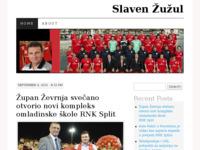 Frontpage screenshot for site: Slaven Žužul - diplomirani inžinjer strojarstva (http://slavenzuzul.wordpress.com/)