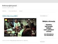 Slika naslovnice sjedišta: Portal reformacija (http://www.reformacija.net)