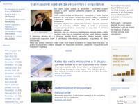 Slika naslovnice sjedišta: Svijet mirovina (http://www.svijetmirovina.org)