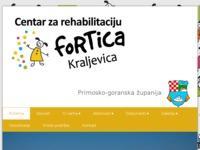 Slika naslovnice sjedišta: Centar za rehabilitaciju Fortica - Kraljevica (http://www.fortica.com.hr)