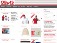 Slika naslovnice sjedišta: Obris d.o.o. (http://www.obris.hr)