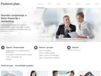 Frontpage screenshot for site: Poslovni plan (http://poslovni-plan.com)