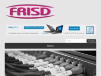 Frontpage screenshot for site: Frisd (http://www.frisd.hr)