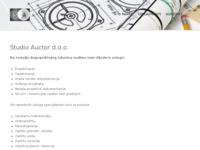 Slika naslovnice sjedišta: Studio Auctor d.o.o. (http://www.studioauctor.hr)