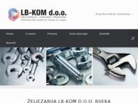 Slika naslovnice sjedišta: Željezarija LB-KOM Rijeka (http://lb-kom.com)