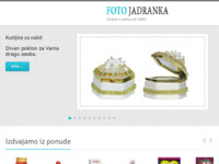 Frontpage screenshot for site: (http://www.foto-jadranka.hr)