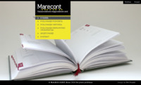 Frontpage screenshot for site: (http://www.marecont.hr)