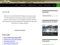Slika naslovnice sjedišta: Inovacije i poduzetništvo (http://inovatori.hr)
