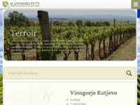 Frontpage screenshot for site: (http://www.slavonski-puti.hr)