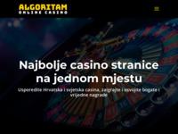 Frontpage screenshot for site: Algoritam (http://www.algoritam.hr/)