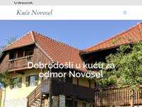 Slika naslovnice sjedišta: Kuća za odmor Novosel (http://www.kucanovosel.com)