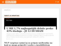 Slika naslovnice sjedišta: Internet portal - grad Križevci (http://krizevci.org/)
