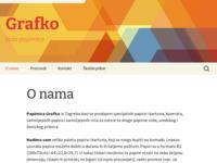 Slika naslovnice sjedišta: Grafko d.o.o. (http://www.grafko.hr)
