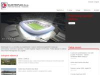 Frontpage screenshot for site: Elektroplan - projektiranje i nadzor elektroenergetskih postrojenja i instalacija (http://www.elektroplan.hr)