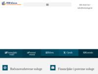 Slika naslovnice sjedišta: Ted usluge Bjelovar za knjigovodstvo- računovodstvo (http://www.tedusluge.hr)