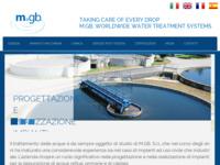 Frontpage screenshot for site: Prociscavanje otpadnih voda (http://www.mgbsrl.com)