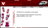 Slika naslovnice sjedišta: Vatrolux - servis vatrogasnih aparata (http://www.vatrolux.com)