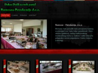 Frontpage screenshot for site: Restoran - Petrokemija, d.o.o., Kutina (http://www.restoran-petrokemija.hr)