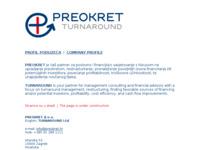Slika naslovnice sjedišta: Preokret d.o.o. (http://www.preokret.hr/)