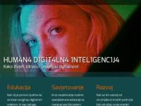 Frontpage screenshot for site: Hrvatsko društvo za integralnost (http://www.hdi.hr)