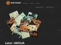 Slika naslovnice sjedišta: Polygraf- tiskara, offset, sitotisak, besplatni oglasi (http://www.polygraf.hr)