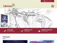 Frontpage screenshot for site: Libricon (http://www.libricon.hr)