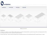 Slika naslovnice sjedišta: Oriobeton (http://www.oriobeton.hr)