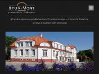 Frontpage screenshot for site: Štuk-mont, proizvodnja štukatura i dekorativnoh fasadnih elemenata (http://www.stuk-mont.hr)