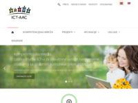 Slika naslovnice sjedišta: ICT sustavi za osobe sa složenim komunikacijskim potrebama (http://www.ict-aac.hr)