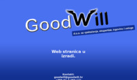 Frontpage screenshot for site: Goodwill d.o.o. (http://goodwill.hr)