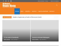 Frontpage screenshot for site: huncro.hr - Tjednik Mađara u Hrvatskoj (http://www.huncro.hr)