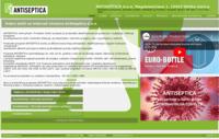 Slika naslovnice sjedišta: Antiseptica d.o.o (http://www.antiseptica.hr)