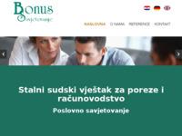 Slika naslovnice sjedišta: Bonus Savjetovanje (http://www.bonus-savjetovanje.hr)