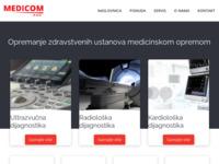 Slika naslovnice sjedišta: Medicom d.o.o. (http://www.medicom.hr)