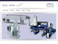 Frontpage screenshot for site: AlfaNova (http://www.alfanova.hr)