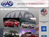 Slika naslovnice sjedišta: Autodijelovi za američka vozila (http://www.mag-trgovina.hr)