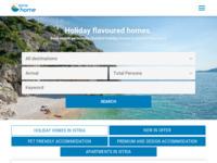 Frontpage screenshot for site: Istria home - Apartmani, kuće za odmor i vile u Istri - Istria Home (http://www.istria-home.com/)